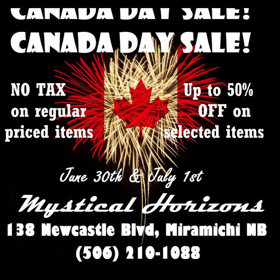 CANADA DAY WEEKEND SALE!